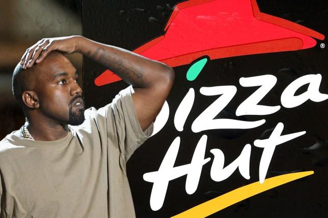 Pizza Hut mock Kanye over his 'debts' Getty