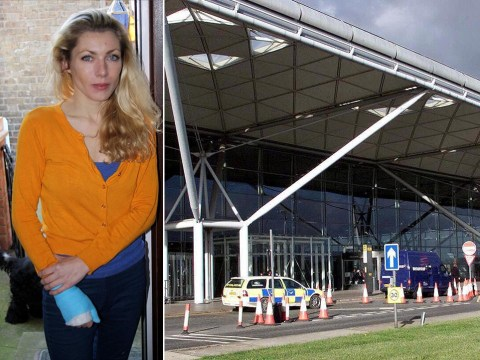 Woman takes off skirt at Stansted in protest to airport security delays
