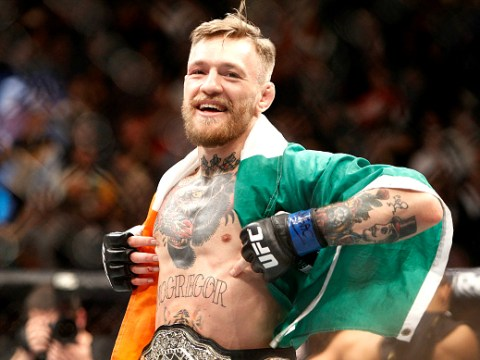 Conor McGregor steps up two weight divisions to fight Nate Diaz