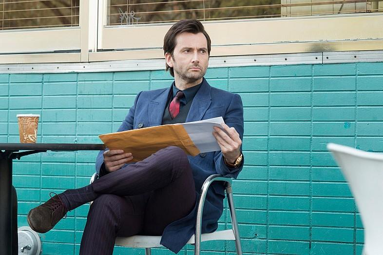 Here's the 'inside scoop' on just how much David Tennant loves his job
