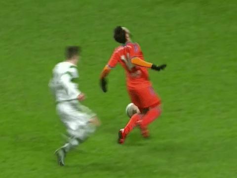 Did Valencia's David Pascual pull off worst dive ever v Celtic U19s?