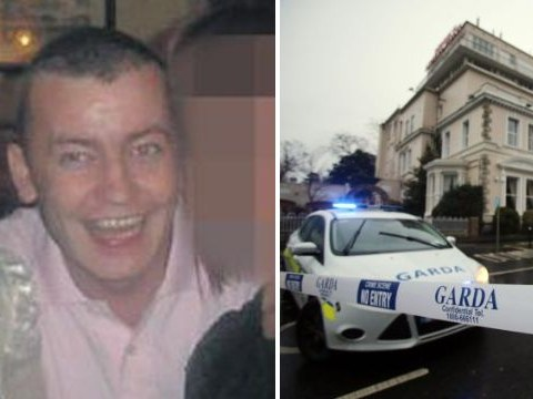 Pictured for the first time: The victim gunned down at a Dublin hotel yesterday
