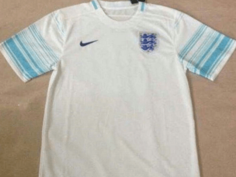 Leaked pictures appear to show England's Euro 2016 home kit