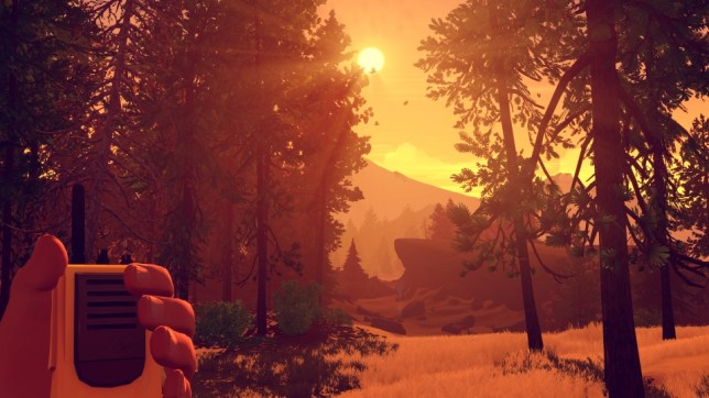 Firewatch (PS4) - pretty misleading