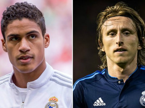 Jose Mourinho opens talks with Luka Modric and Raphael Varane over Manchester United transfers