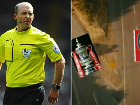 Arsenal fans accept their FA Cup run is over after Mike Dean is appointed ref for Hull match