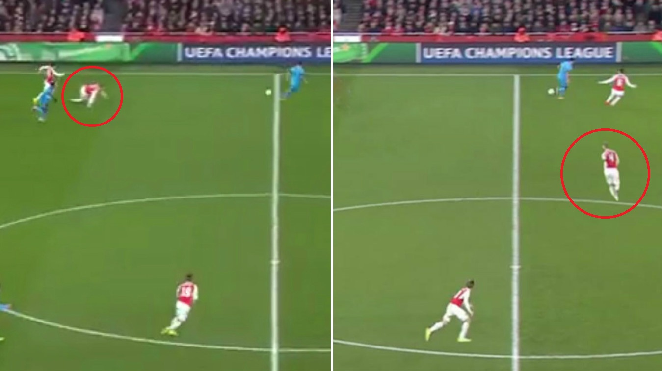 Graphic: Where Per Mertesacker should have been to stop Lionel Messi counter-attack goal v Arsenal