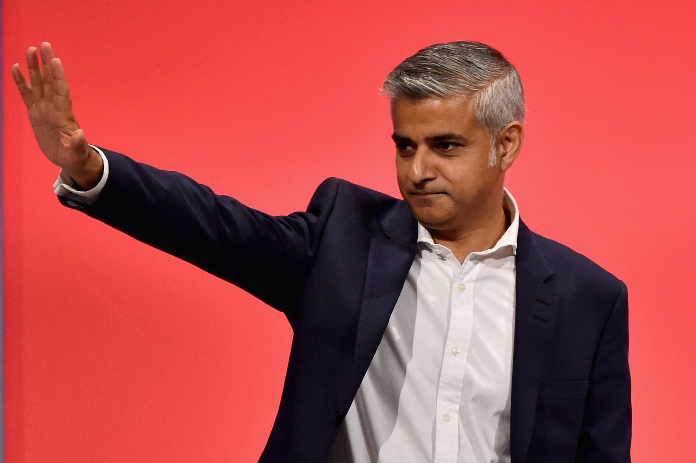 London Mayoral Candidate Sadiq Khan (Photo by Jeff J Mitchell/Getty Images)