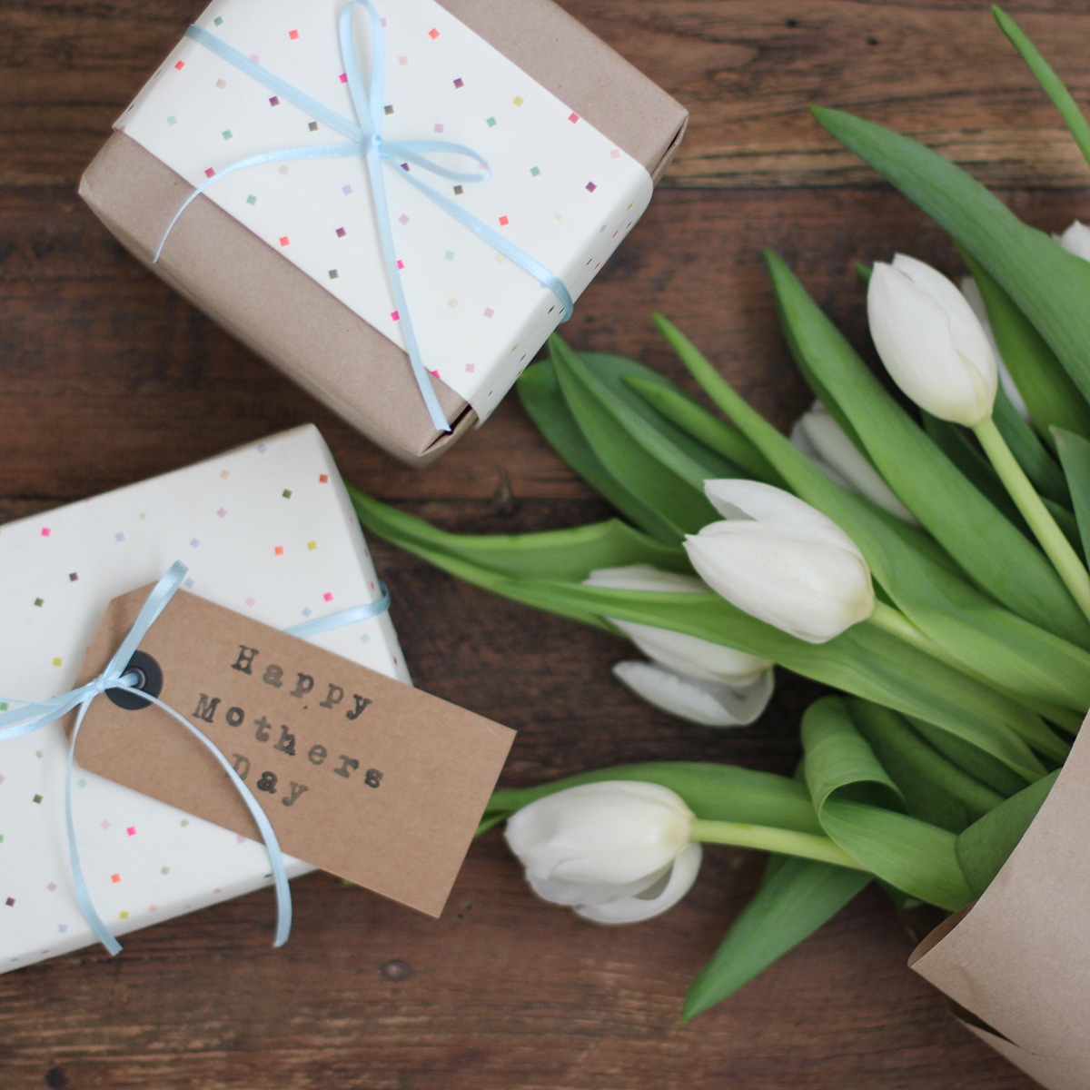 Mother's Day gifts and flowers Getty