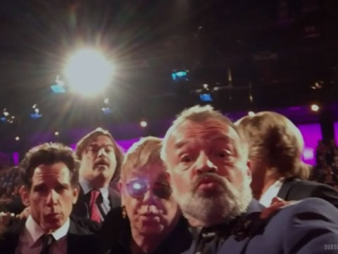 This Graham Norton Show selfie featuring Ben Stiller and Sir Elton John is pretty epic