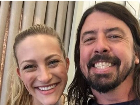 Dave Grohl has reunited with the girl from Nirvana's Heart Shaped Box video