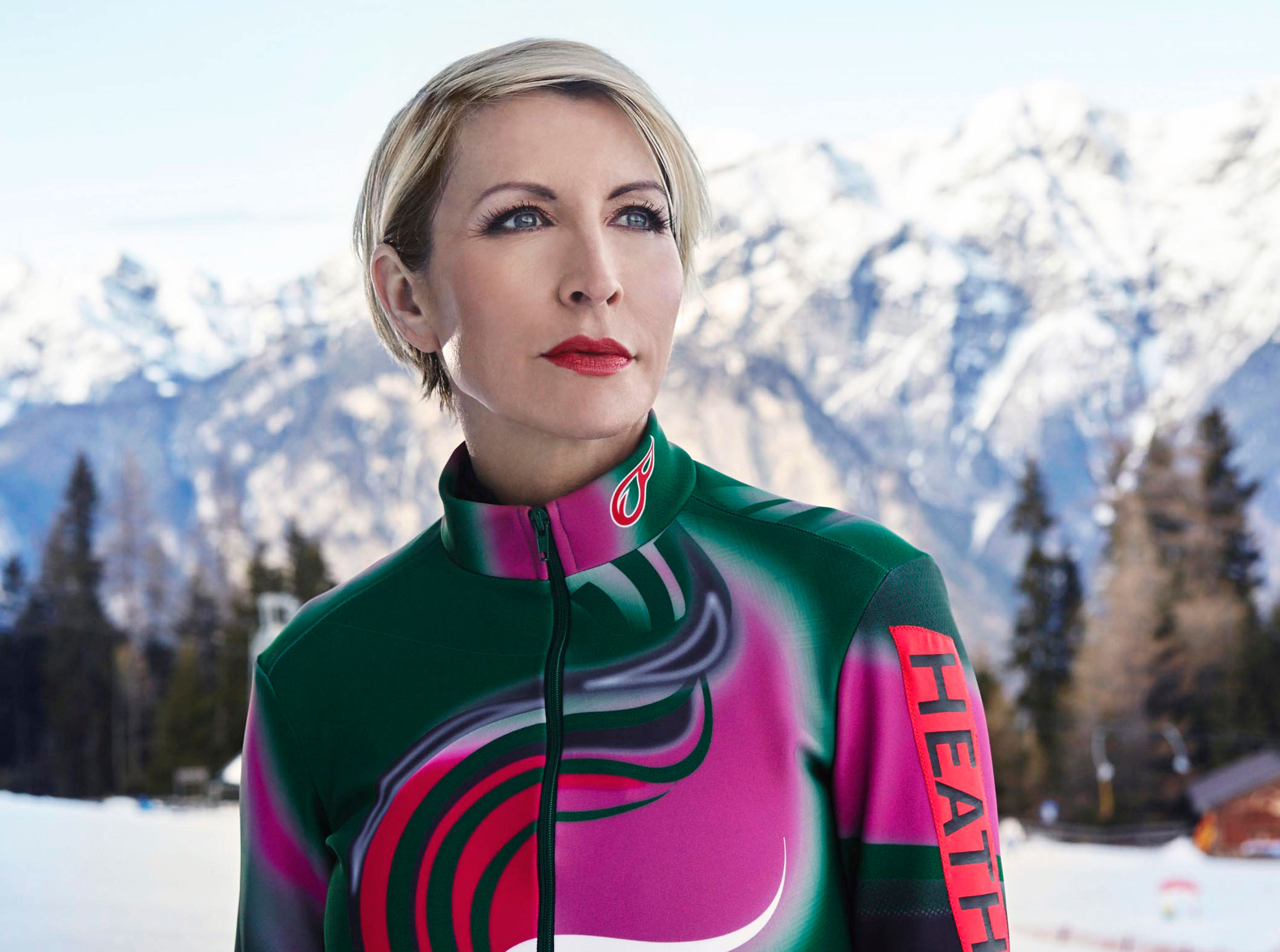 Heather Mills returns to The Jump as she replaces Rebecca Adlington