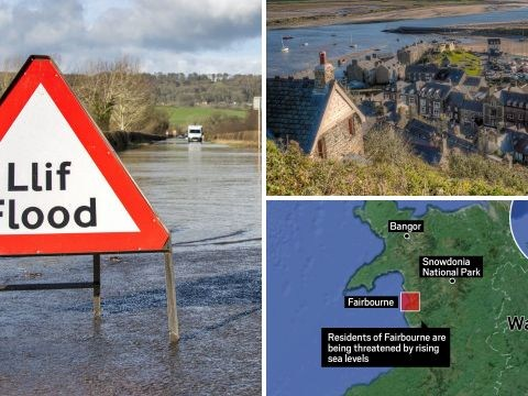 Entire Welsh village to be evacuated before it's lost to the sea
