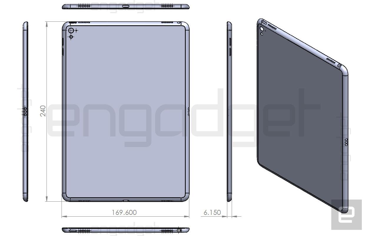 iPad Air 3 leaked image