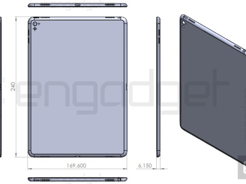 Guys, here's what the new iPad Air 3 will look like