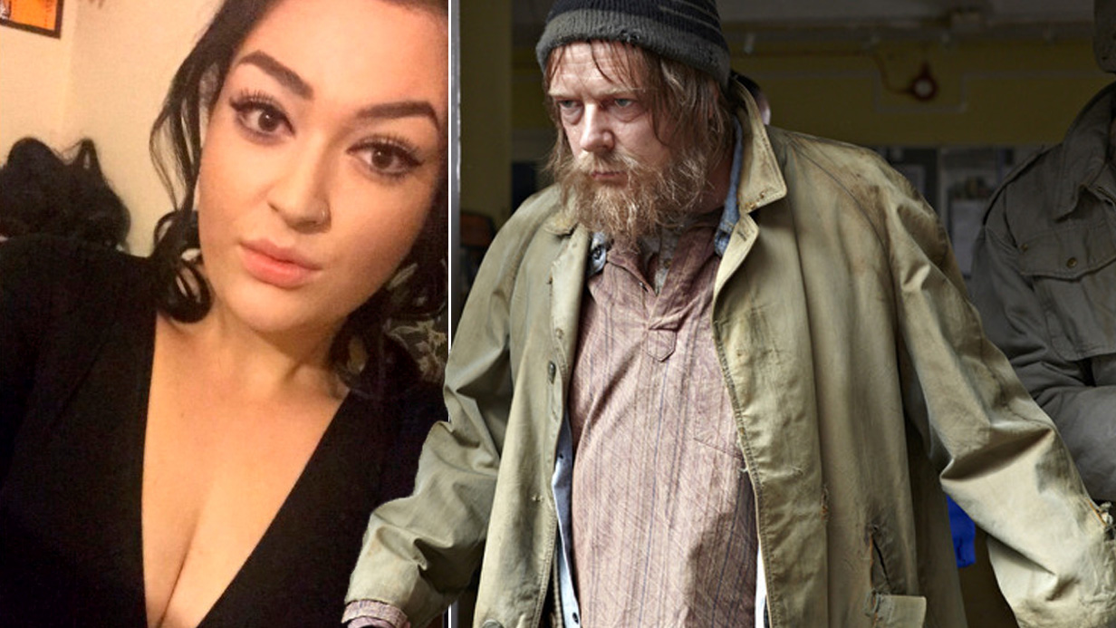 Student Amber-May Ellis has ended up with a tattoo of Eastender character Ian Beale after a bet on a drunken night out. See SWNS story SWBEALE; A student stuck to her word after she lost a drunken bet and ended up with a massive tattoo on her thigh ñ of IAN BEALE. Amazingly, Amber-May Ellis, 21, doesnít regret getting the large tattoo of the EastEnders character's face - and is absolutely thrilled with it. The tattoo, which takes up most of her thigh, depicts the character in his homeless phase, and includes all the details including scraggly beard, beany and scratches on his face. But the third year student at Reading University said she canít even remember what the bet that led to it was all about. Speaking to student newspaper The Tab, she said: ìBasically it was a drunken bet - but it was so irrelevant no one can remember what it actually was.î