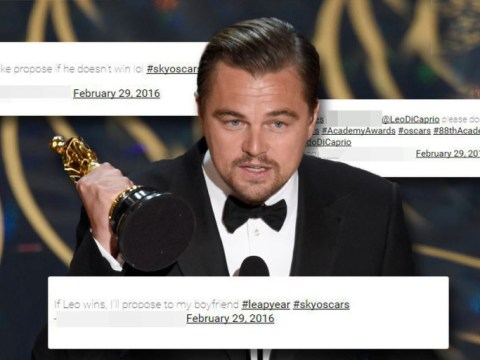 Couple's lives change forever after betting marriage on Leo DiCaprio's Oscar win