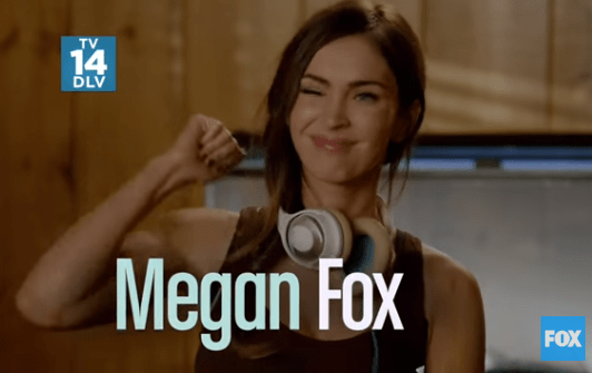 Megan Fox New Girl still