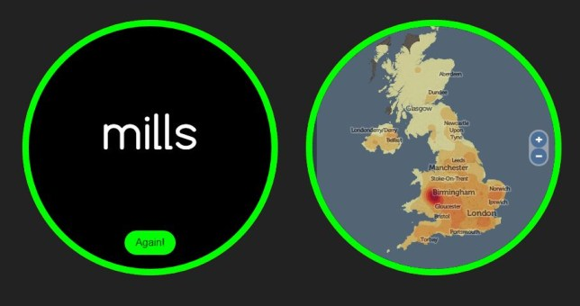 website will tell you where in UK your surname is most popoular/UCL