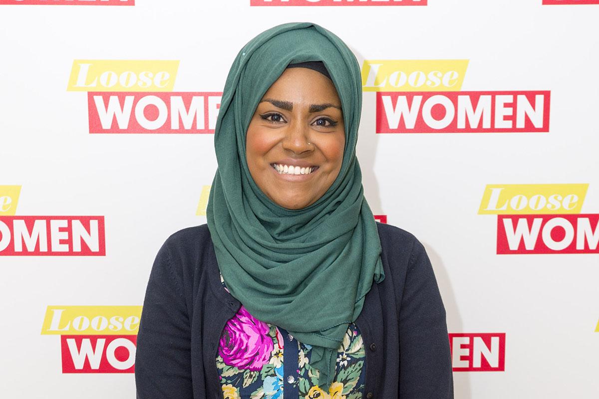 EDITORIAL USE ONLY. NO MERCHANDISING Mandatory Credit: Photo by Ken McKay/ITV/REX/Shutterstock (5519138bk) Nadiya Hussain 'Loose Women' TV show, London, Britain - 06 Jan 2016