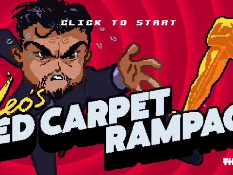This nifty game lets you pretend you're Leonardo DiCaprio chasing that elusive Oscar