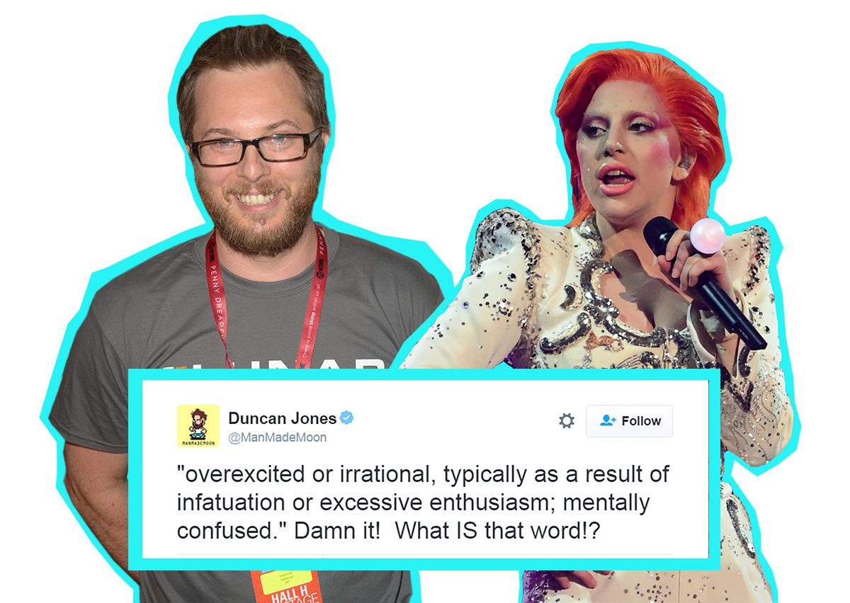 David Bowie's son Duncan Jones wasn't a fan of Lady Gaga's Grammys tribute then