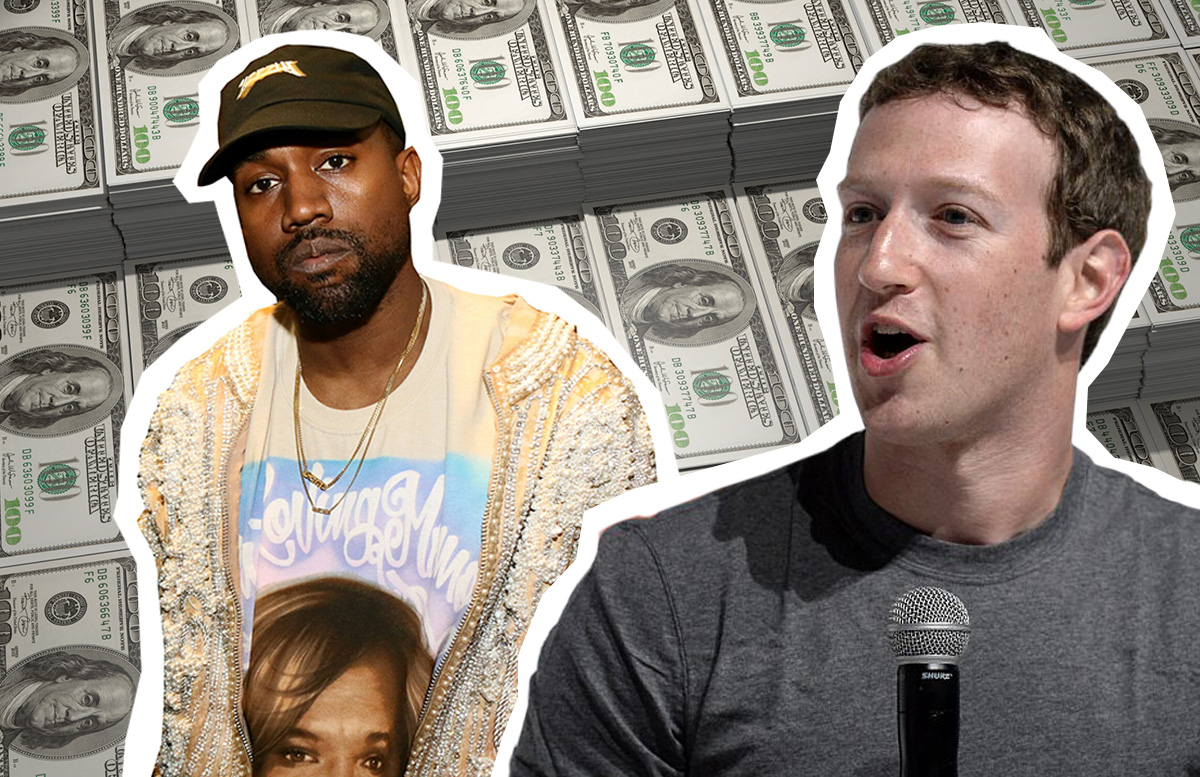 Did Mark Zuckerberg just subtly respond to Kanye West's plea for $1 billion?