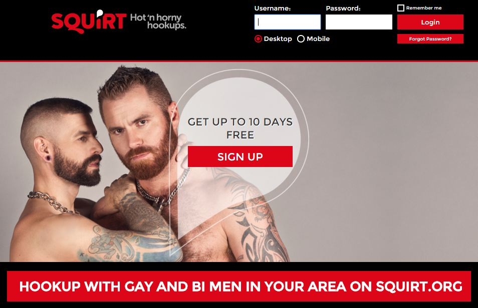 Squirt.org website tells you if theres a gay hook-up