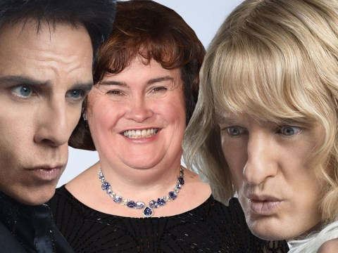 So, Susan Boyle has a surprise cameo in Zoolander 2