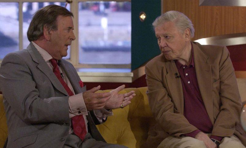 David Attenborough turned Terry Wogan down for a BBC2 job because he was Irish