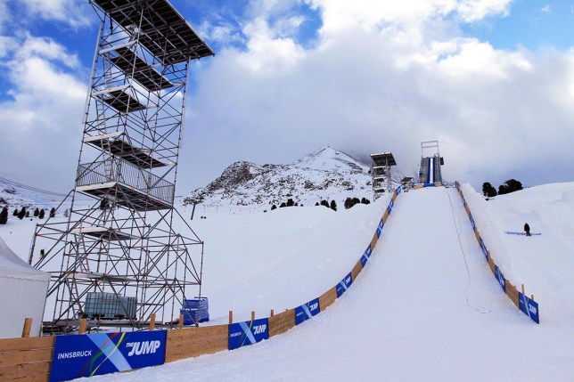 The Jump Series 3 set Channel 4