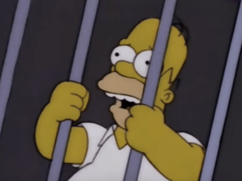 This mash-up of The Simpsons and Making A Murderer is just brilliant