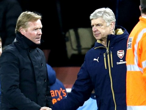 Rumour: Arsene Wenger in furious Arsenal tunnel row with Southampton boss Ronald Koeman
