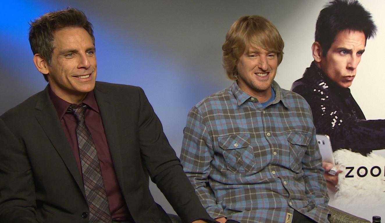 Ben Stiller and Owen Wilson talk Zoolander 2, David Bowie and that Dodgeball 2 rumour