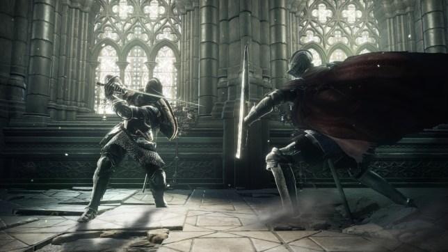 Dark Souls III - they're all dark knights here