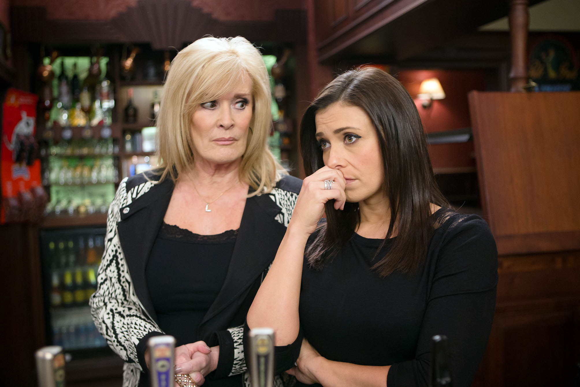Beverley Callard discusses breaking down on set and promises Liz McDonald will return to Coronation Street 'with a bang'