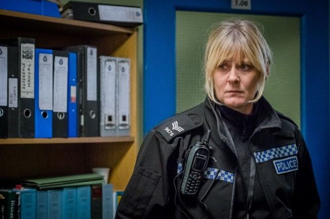 Programme Name: Happy Valley series 2 - TX: n/a - Episode: n/a (No. 4) - Picture Shows: Catherine (SARAH LANCASHIRE) - (C) Red Productions - Photographer: Ben Blackall