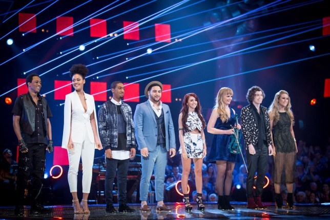WARNING: Embargoed for publication until 00:00:01 on 15/03/2016 - Programme Name: The Voice - TX: 20/03/2016 - Episode: The Voice - Episode 11 (No. 1) - Picture Shows: THE VOICE - EPISODE 11 Team Will.i.am - (C) Wall To Wall - Photographer: GUY LEVY