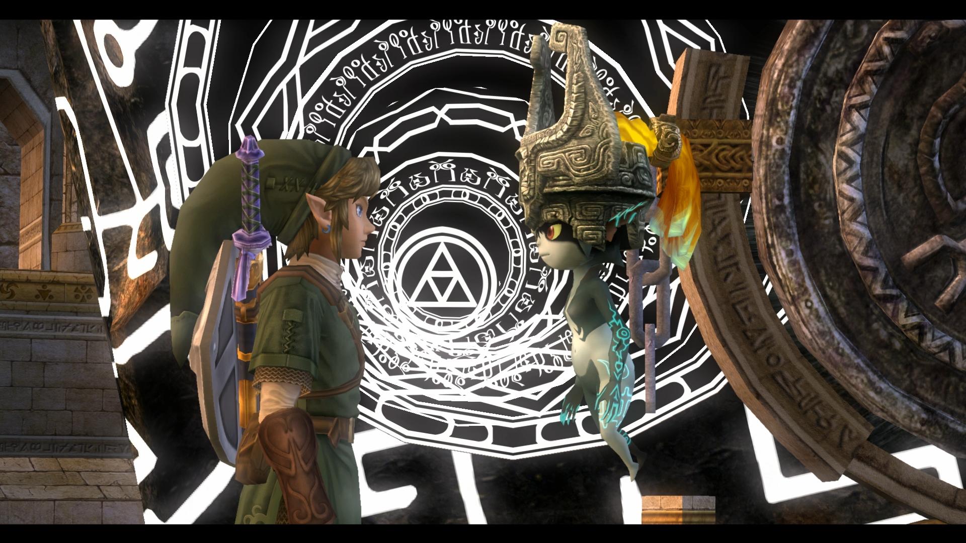 The Legend Of Zelda: Twilight Princess HD (Wii U) - Midna is still awesome