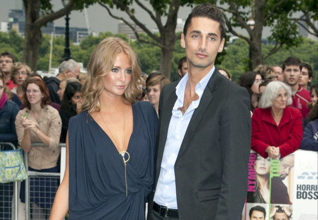 Old flames: Millie Mackintosh And Hugo Taylor (pictured here in 2011) are said to be getting close again (Picture: Phillips/UK Press via Getty Images)
