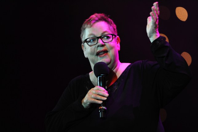 New laughs: Jo Brand's BBC Four comedy Getting On has been given a spin-off (Picture: Dave J Hogan/Getty Images)