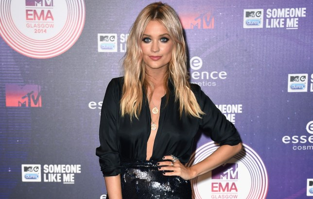 New love? Laura Whitmore has been linked to Richard Madden (Picture: Ian Gavan/Getty Images for MTV)