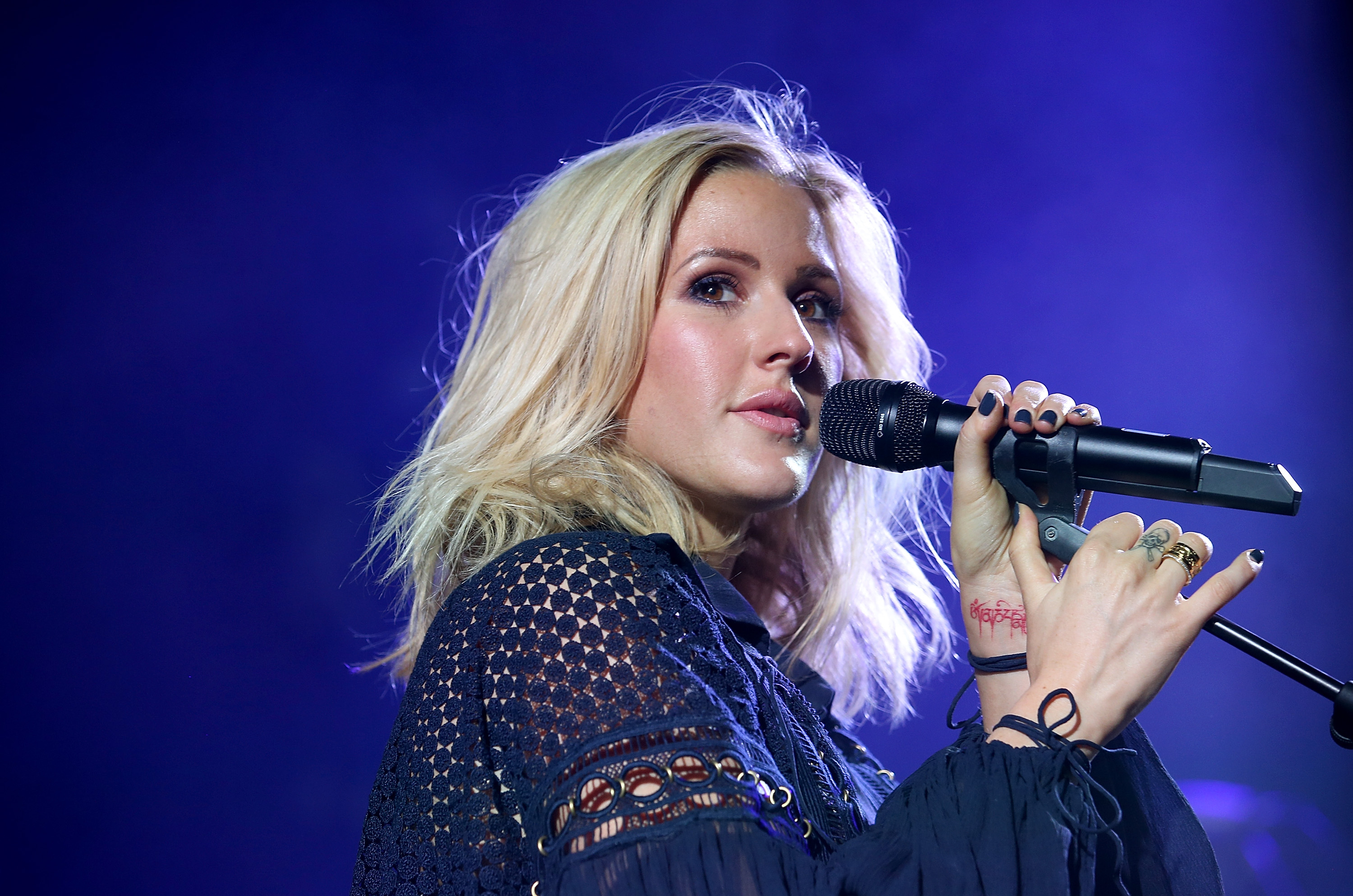 Ellie Goulding hs recorded a new track for the film (Picture: Chris Jackson/Getty Images for Marriott International & Universal Music Group)