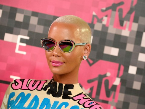 Amber Rose has joined the #FreeTheNipple movement