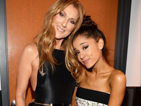 Ariana Grande made Celine Dion pee herself