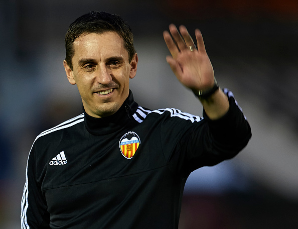Manchester United legend Gary Neville sacked as Valencia manager