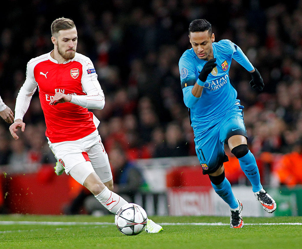 Stats suggest Aaron Ramsey is a defensive weakness for Arsenal