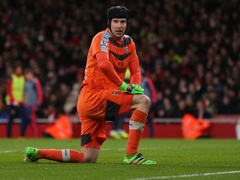 Petr Cech set for a month out with calf injury, reveals Arsene Wenger