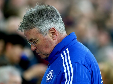 Chelsea boss Guus Hiddink admits top four chances are over