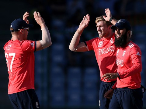 In pictures: England cricket team rally to victory after collapsing to 85-7 v Afghanistan in World Twenty20